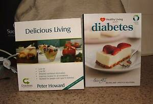 Healthy Living with Diabetes & Delicious Living Diabetes Cookbook Charlestown Lake Macquarie Area Preview