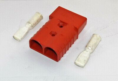 New Clark Forklift 350 Red Battery Connector 30 Assembly 1802435 D1178