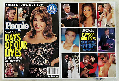 DAYS OF OUR LIVES Collector's Edition PEOPLE Magazine 50 YEARS Lust & Drama MINT