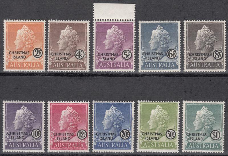 Weihnachtsinsel / Christmas Island Nr. 1-10** Königin Elisabeth II.