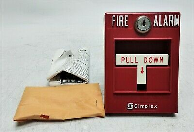 Open Box Simplex Fire Alarm Pull Station Single Action 2099-9102