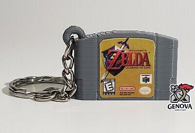 N64 The Legend Of Zelda Ocarina Of Time 3D Printed Cartridge Keychain Nintendo  comprar usado  Enviando para Brazil