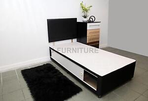 Single divan bed base 2ft6 or 3ft choose colour for Single divan base with storage