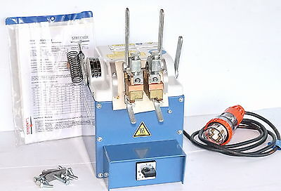Strecker Type-1 Wire Butt Welding Machine fusing electrical wire conductors *NEW