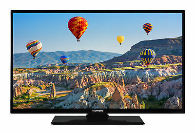 Techwood 32 Zoll Fernseher - HD ready mit Triple Tuner (DVB-T2/-C/-S2) - H32T11A Hd Tuner Hd Ready Tv