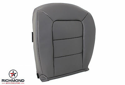 2001-2002 Ford Explorer Sport Trac -Driver Side Bottom Leather Seat Cover Gray