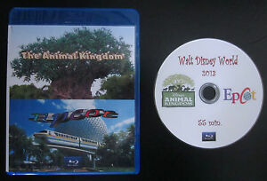 Walt Disney World's Animal Kingdom and Epcot 2013 in Blu-Ray