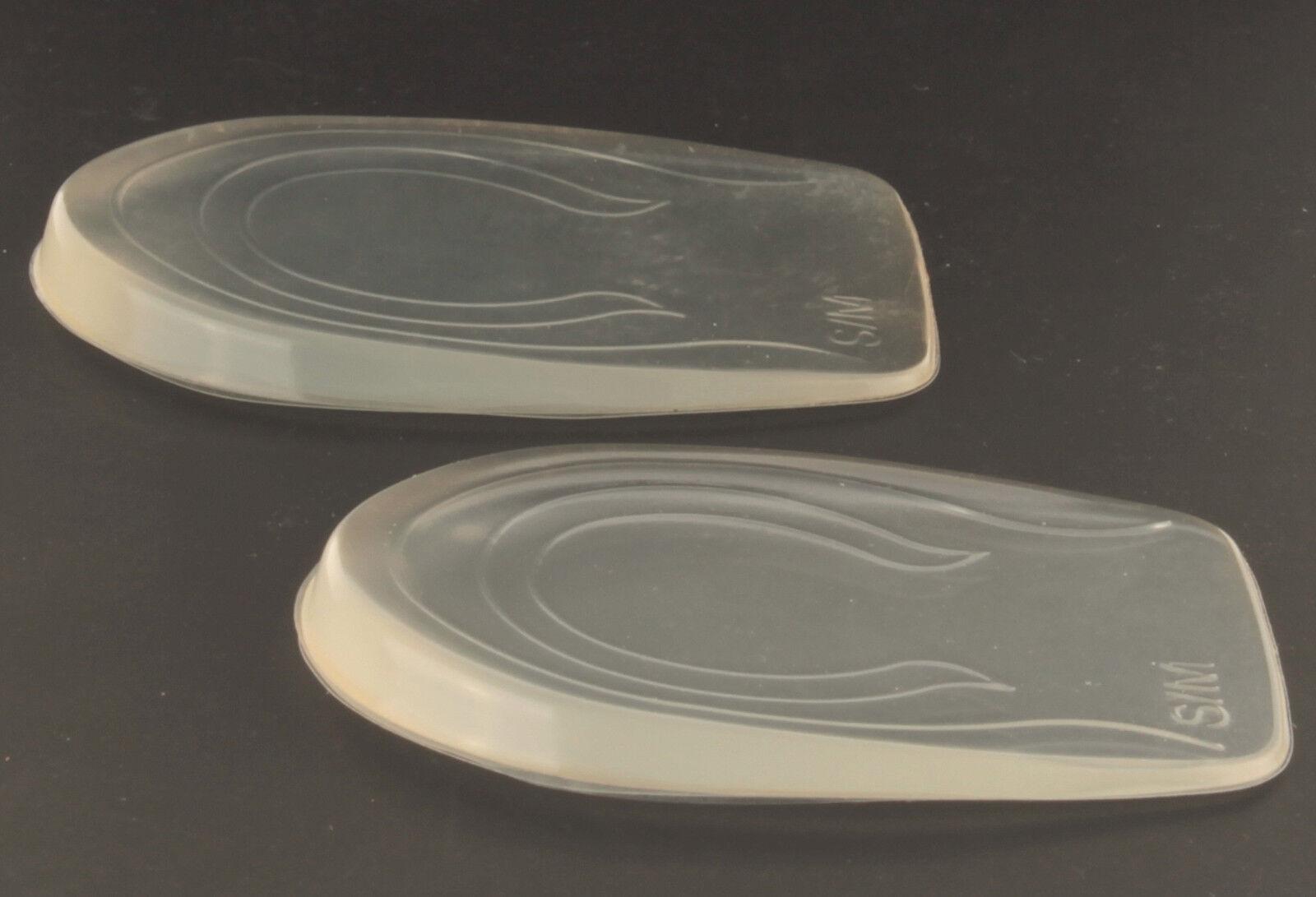 Gel Schuhalbsohle für Ihre Ferse Fersenpolster Fersenschutz Set Fersenkissen NEU