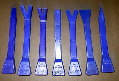 Bojo 7 Pc. Blue Genius Pry/Trim Removal Tools for Car Panels and Radios