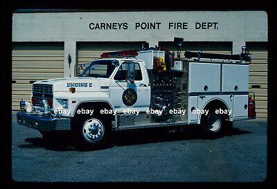 Carneys Point NJ 1987 Ford F800 Grumman pumper Fire Apparatus Slide