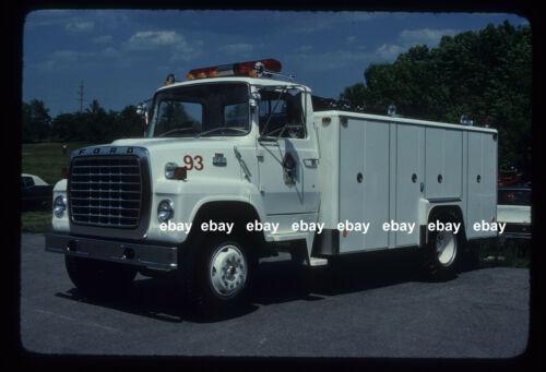 Mokena IL 1978 Ford L SuperVac rescue Fire Apparatus Slide