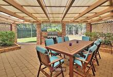 9 Piece Outdoor Dining Set plus bench seat Calamvale Brisbane South West Preview