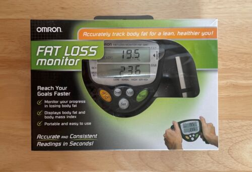 OMRON HBF-306C BMI Handheld Body Fat Loss Monitor NEW open box
