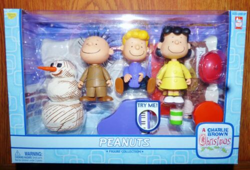 MEMORY LANE PEANUTS A CHARLIE BROWN CHRISTMAS FIGURE COLLECTION LUCY SCHROEDER +