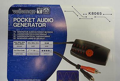 Velleman Pocket Audio Generator K8065 Details Soldered.