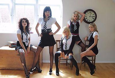 5 x Sexy girls in uniform A4 assorted photos