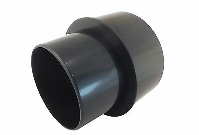 Dust Collector 5 To 4 Duct Reducer Abs Plastic W 4 Od 5 Od Openings 73472