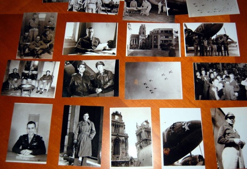 WWII 100 PHOTOS PARATROOPERS USAAF TTROOP CARRIER GROUPS,JUMPS ENGLAND D-DAY