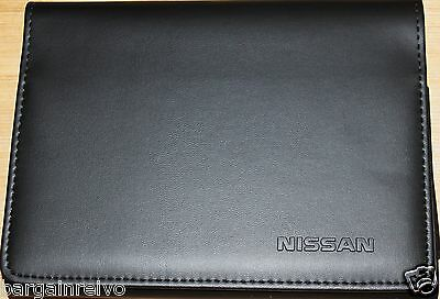 GENUINE NISSAN MICRA NOTE JUKE QASHQAI LEAF X-TRAIL DOCUMENT WALLET FOLDER