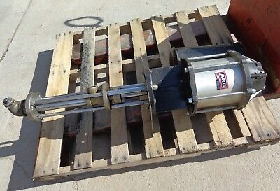 Used Aro Air Piston Transfer Pump Model 650861221 Good Working Condition