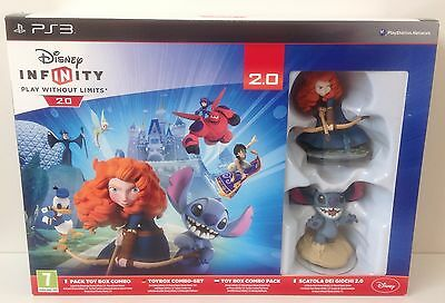 PS3 Infinity 2.0 Toy Box Combo Pack * NEW & SEALED * Playstation 3 region PAL 2