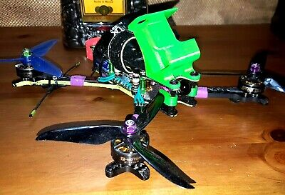 FPV Freestyle Quadcopter Racing Drone!! Flosstyle Form!! All Premium Parts!!
