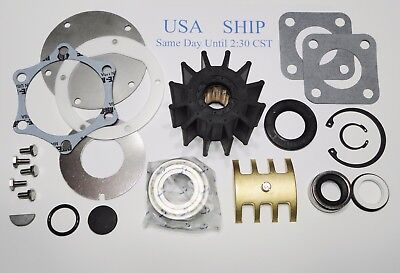 Raw Sea Water Pump Rebuild Kit Detroit Diesel 2313002 23501083 23507971 5107480