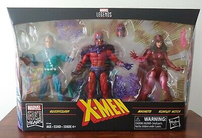 Marvel Legends X-Men Family Matters Magneto Scarlet Witch Quicksilver 3-Pack New
