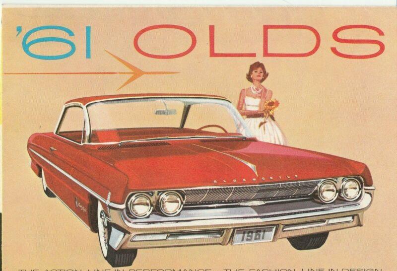 1961 Oldsmobile dealer sales brochure