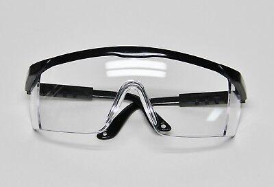 Dental Lab Medical Student Safety Protective Eyewear Glasses Black Uv Anti-fog