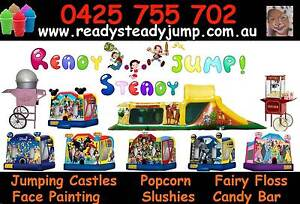 Ready Steady JUMP PACKAGE jumping Castle Face Painting $350 Caroline Springs Melton Area Preview