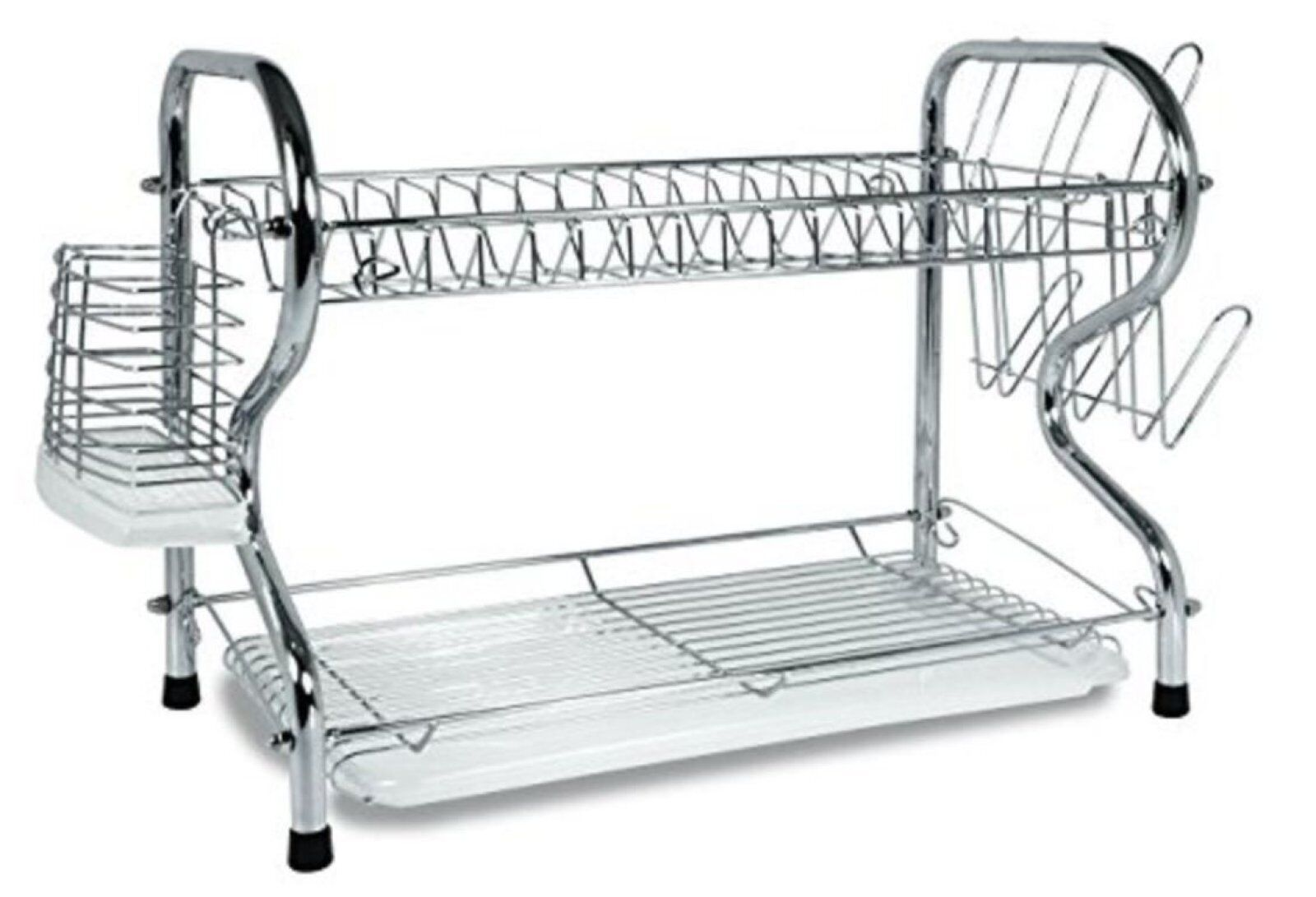 "Better Chef - 16"" Chrome Dish Rack - Chrome"