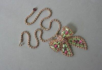 Ожерелья и кулоны Rhinestone Bow Necklace/
