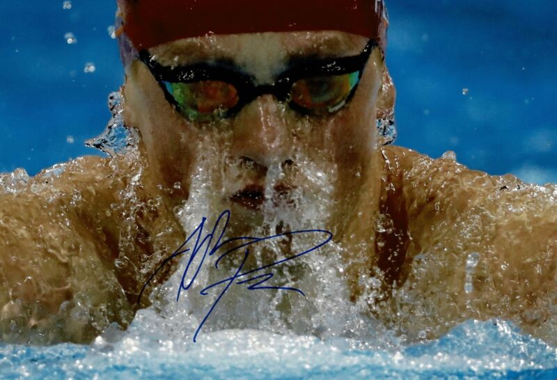 Adam Peaty Signed 12X8 Photo Rio 2016 Tokyo 2020 Genuine Signature AFTAL COA (J)
