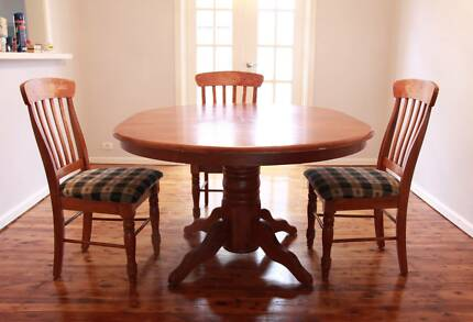 Timber table and chairs Beverley Park Kogarah Area Preview