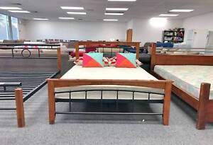TODAY DELIVERY MODERN Double bed frame (mattress available) Belmont Belmont Area Preview