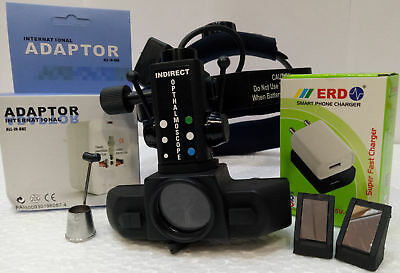 Binocular Wireless Indirect Ophthalmoscope With Accessories Free Shipping