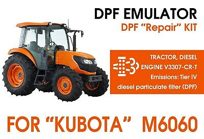 Dpf Repair Kit For Kubota M6060m7060 - Dpf Filter Delete Emulator V3307