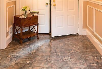 "20x Vinyl Floor Tiles Marble Granite Flooring Self Adhesive Peel & Stick 12""x12"""