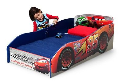 Boy Toddler Bed Wooden Disney Cars Lightning Mcqueen Kid Race Bedroom Furniture Lightning Mcqueen Furniture