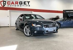 2010 Audi S4 3.0T - Leather| Sunroof| Supercharged| 333 HP