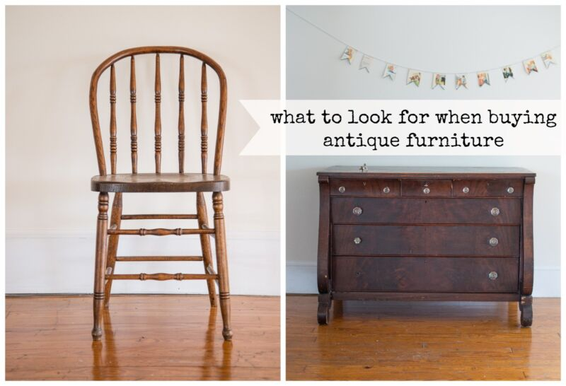 - What To Look For When Buying Antique Furniture... EBay