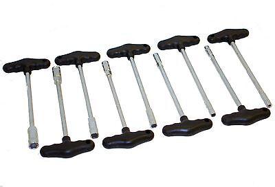 T-Griff Steckschlüssel innensechskant Schlüssel Set Satz 9 teilig 7-14mm 6333
