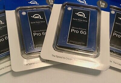 OWC SSD Mercury Extreme Pro 6G 1TB SATA III SEALED NEW NEVER WRITTEN