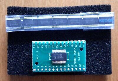 8pcs Pcb Pic24f32ka302-iss Microchip Microcontroller Ic Mcu 32k Flash Ssop28