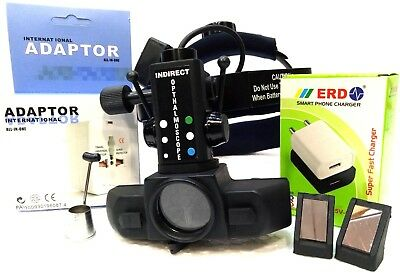 Wireless Indirect Ophthalmoscope With Accessories Optometry Free Shipping