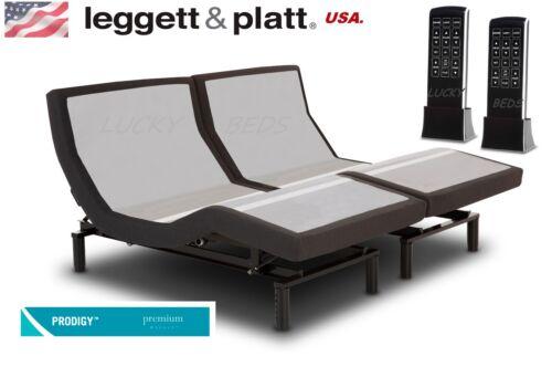 King(split/dual) Prodigy 2.0 Leggett And Platt Adjustable Bed(bases) New.