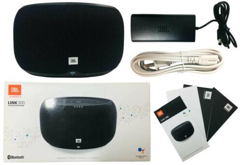 JBL LINK 300 Wireless Speaker with Google Voice Assistant Black JBLLINK300BLKUS