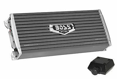 Boss Audio AR2400.4 2400w 4-Channel Car Audio Power Amplifier Amp+Bass Remote