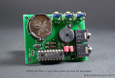 KIT BUILD IAMBIC MEMORY KEYER HAM MORSE CODE/TELEGRAPH